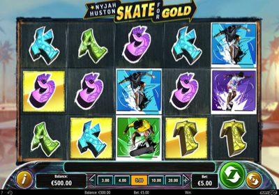 Nyjah Huston Skate for Gold Reels