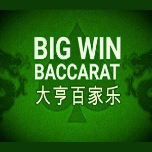 Big Win Baccarat isoftbet logo