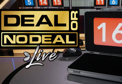 Deal or No Deal Evolution Screen