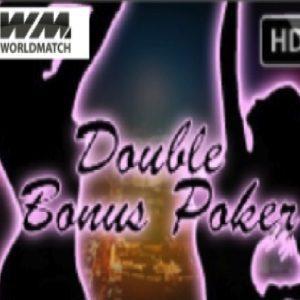 Double Bonus Poker World Match Logo