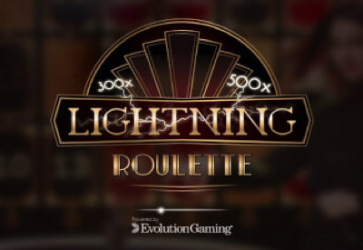 Lightning Roulette Evolution Screen
