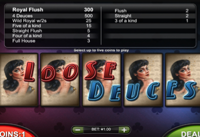 Loose Deuces RTG Screen