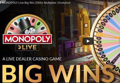 Monopoly Live Evolution Screen