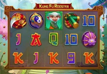 Kung Fu Rooster RTG Screen