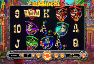 The Mariachi 5 RTG Screen