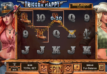 Trigger Happy RTG Screen