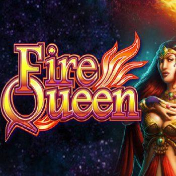 Fire Queen Logo WMS Scientific Games