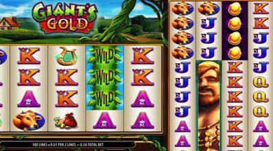 Giants Gold Reels WMS Scientific Games