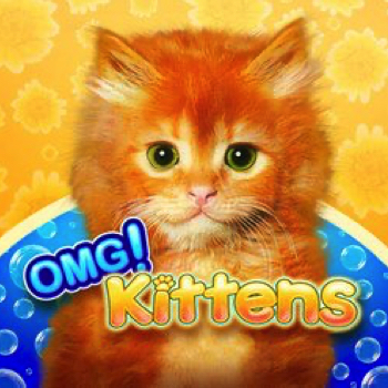 OMG Kittens Logo WMS Scientific Games