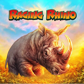 Raging Rhino Logo WMS Scientific Games