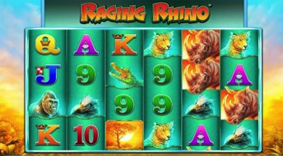Raging rhino Reels WMS Scientific Games