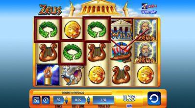 Zeus Reels WMS Scientific Games