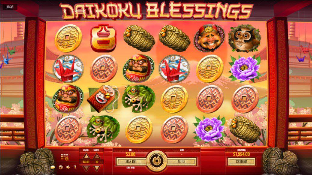 Daikoku blessings reels