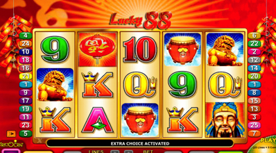 Lucky 88 Reels Aristocrat