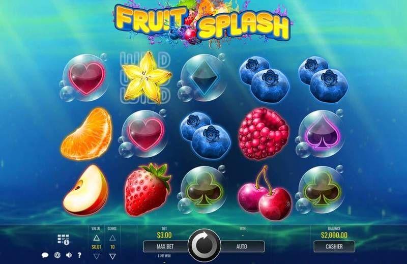 fruit splash reels