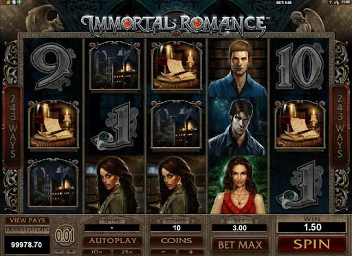 immortal romance reels