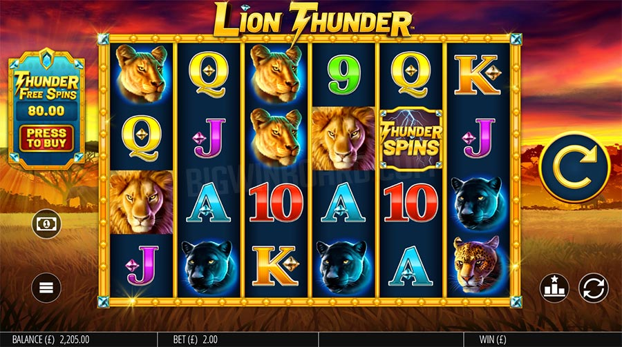 lion-thunder-slot- reels