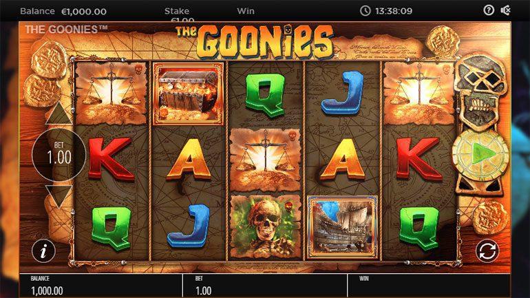 the goonies reels