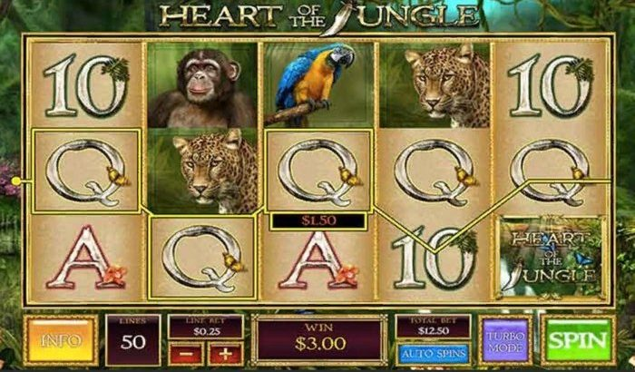 heart of the jungle reels