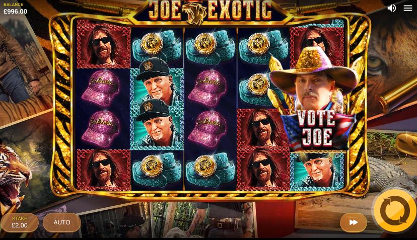Joe exotic reels