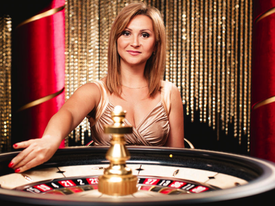 Play live casino roulette